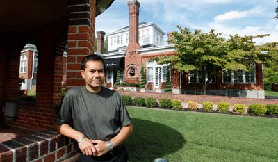 Martin Ramirez is the owner of Historic Mankin Mansion in Richmond, Va., one of 400 independently owned inns that have signed on to offer free rooms to veterans and their families Nov. 10, the night before Veterans Day. (Associated Press)