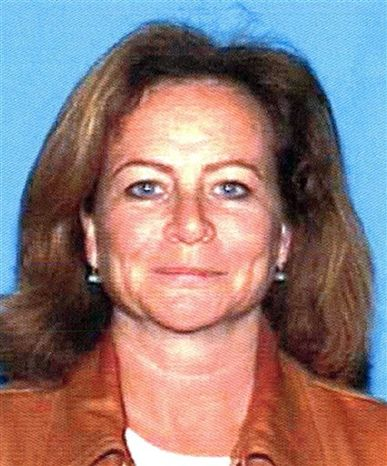 This image provided by the Department of Motor Vehicles shows film editor Sally JoAnne Menke, who was found dead on a Hollywood Hills hiking trail, Tuesday, Sept. 28, 2010, in Los Angeles. (AP Photo/DMV)