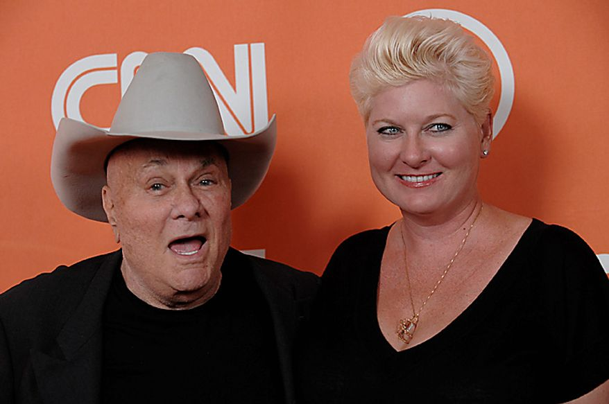 Tony Curtis and wife Jill Vanden Berg arrive to the Turner Broadcasting Television Critics Association party in Beverly Hills, Calif. in this July 11, 2008 file photo. Curtis died Wednesday Sept. 29, 2010 at his Las Vegas area home of a cardiac arrest at 85 according to the Clark County, Nev. coroner. (AP Photo/Chris Pizzello, File)