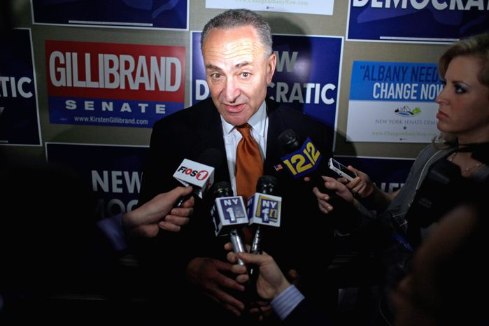 Associated Press Sen. Charles E. Schumer, whose campaign-finance reform bill died recently in the Senate, reported raising $23.2 million.