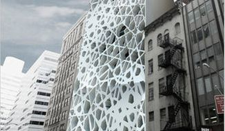 """SOMA ARCHITECTS The edifice of the so-called """"ground zero mosque"""" in New York has been compared to """"Superman's fortress of solitude."""""""