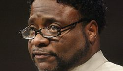 **FILE** Bishop Eddie Long, pastor of New Birth Missionary Baptist Church near Atlanta, has been accused by four men of luring them into sexual relationships. (Associated Press)
