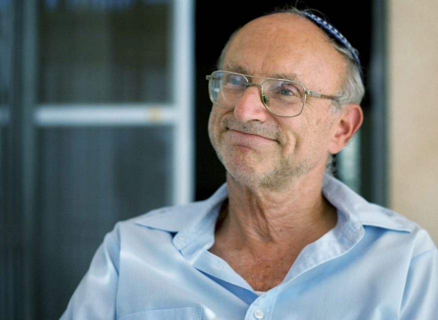 Avraham Goldis, Revava settler (Associated Press)