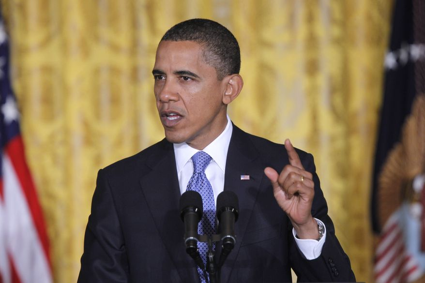 President Obama speaks Tuesday during the White House Summit on Community Colleges in the East Room of the White House. (Associated Press)