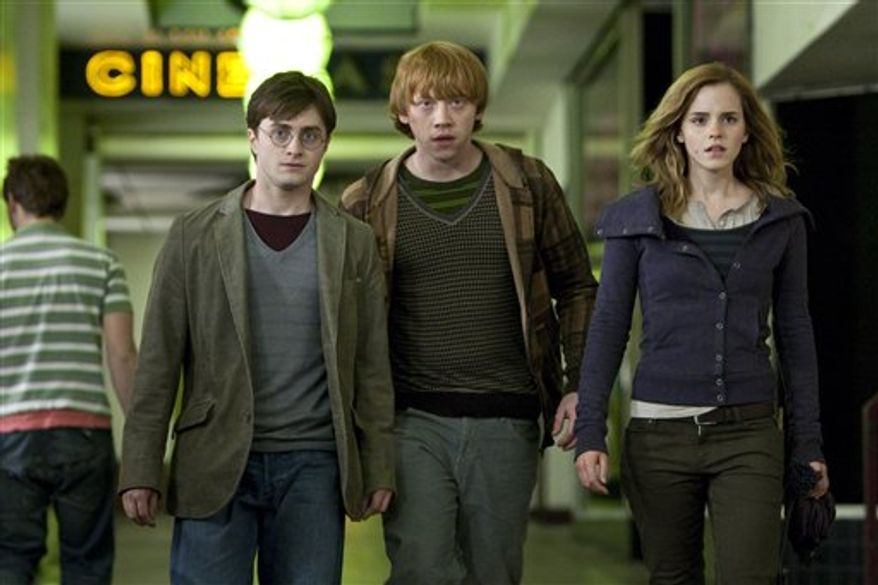 "In this film publcity image released by Warner Bros. Pictures, Ralph Fiennes is shown in a scene from ""Harry Potter and the Deathly Hallows: Part 1."" (AP Photo/Warner Bros. Pictures)"