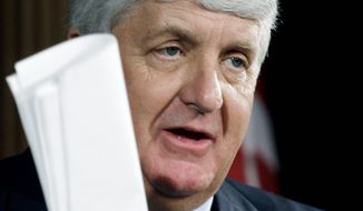 Associated Press Rep. Rob Bishop, Utah Republican, seen here in March 2009, posted the draft report on his website Friday.