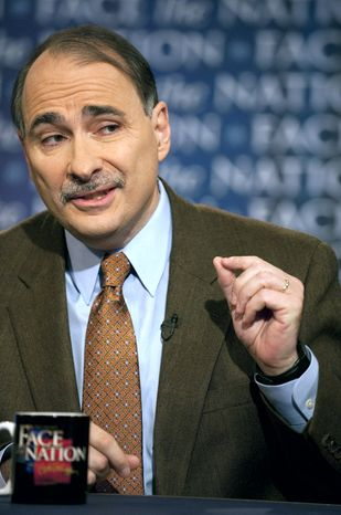 """On CBS' """"Face the Nation"""" on Sunday, White House senior adviser David Axelrod questioned the need for a blanket stoppage of all home foreclosures. (AP Photo/CBS, Chris Usher)"""