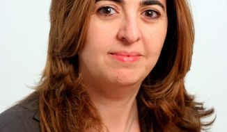 **FILE** Houda Nonoo, ambassador of Bahrain to the United States (Associated Press/HO)
