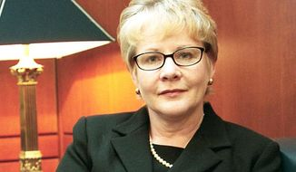 **FILE** U.S. District Judge Virginia A. Phillips is pictured in 2002. (Associated Press)