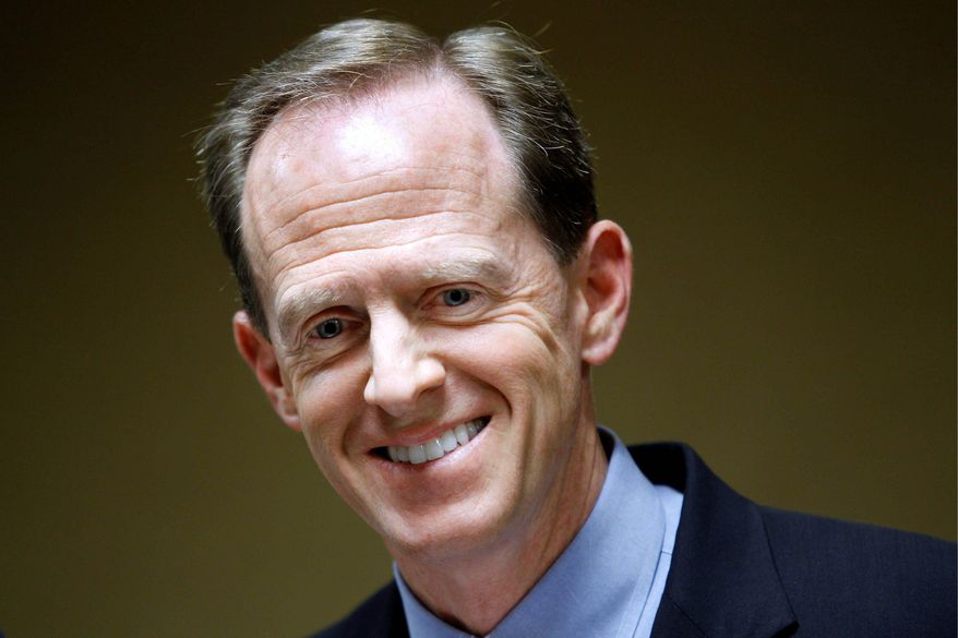 SENATE CONTENDERS: Pennsylvania Democratic Senate candidate Rep. Joe Sestak trails his Republican rival, former Rep. Pat Toomey (pictured), in the polls two weeks before the election for an open seat. (Associated Press)