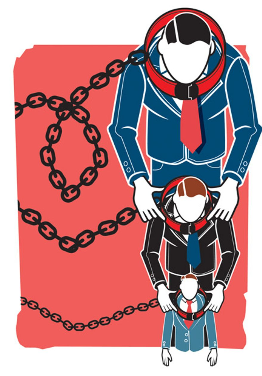 Illustration: Regulations by Linas Garsys for The Washington Times