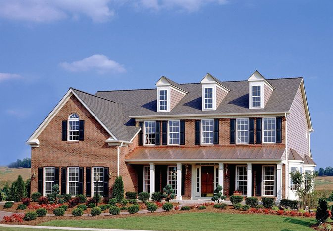 Ryan Homes is building 1,400 single-family homes on sites of less than a quarter-acre at Brunswick Crossing in Brunswick. The homes have 1,944 to 2,935 finished square feet, with base prices from $294,990 to $388,990.