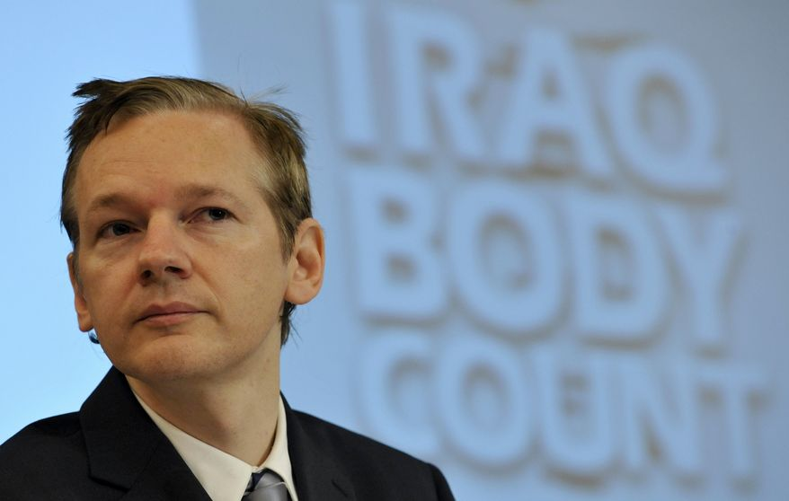 Julian Assange is the founder of WikiLeaks, which has released classified U.S. documents. (AP Photo)