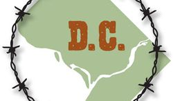 Illustration: D.C. by Linas Garsys for The Washington Times