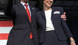 Senate candidate Richard Blumenthal and his wife, Cynthia, have filed separate financial disclosure reports. Mrs. Blumenthal's family is worth tens of millions of dollars. (Associated Press)