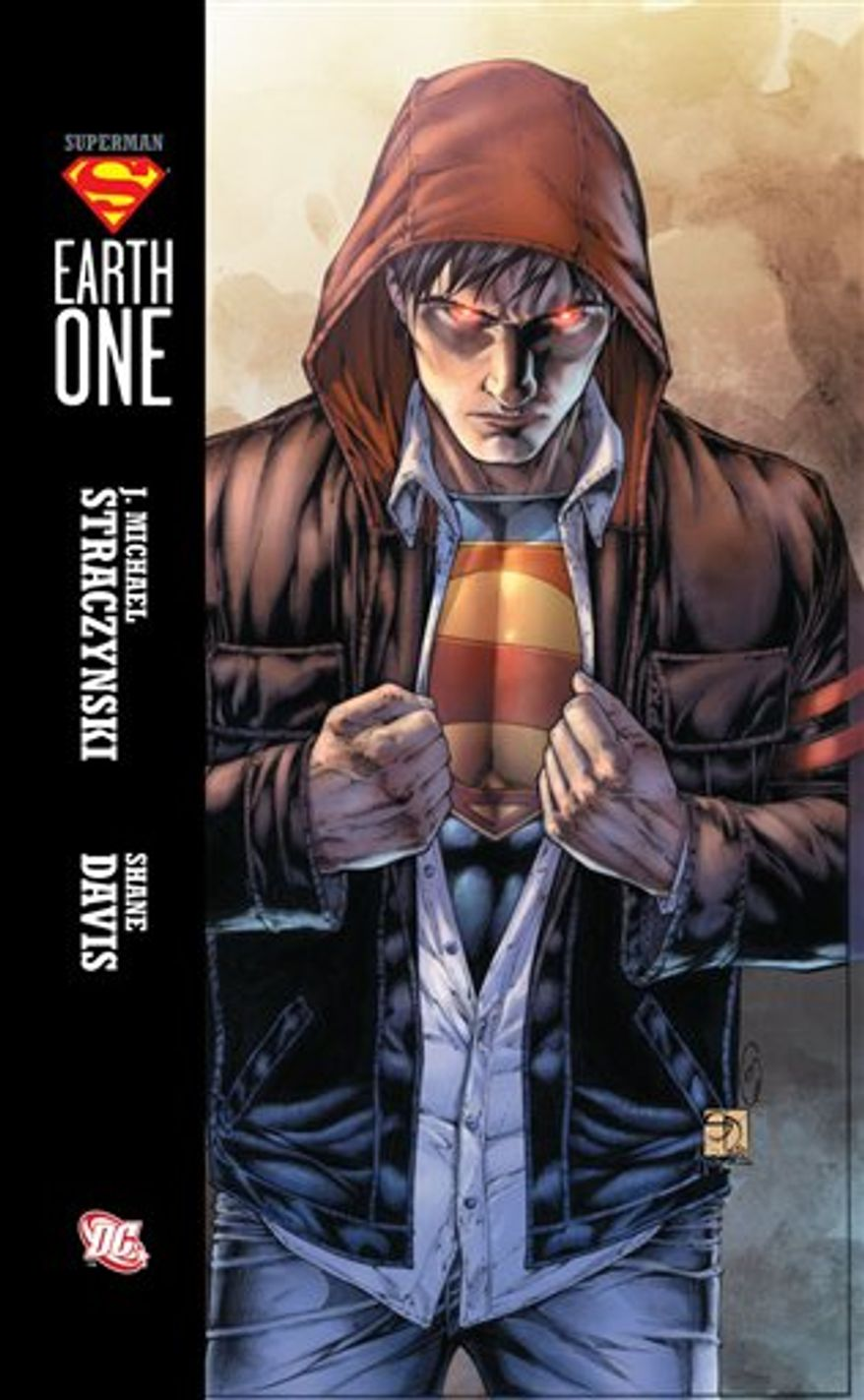 """In this publicity image released by DC Comics, the cover of """"Superman: Earth One,"""" is shown. (AP Photo/DC Comics)"""