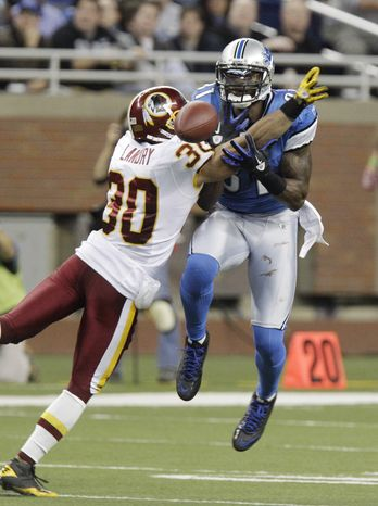 Washington Redskins saftey LaRon Landry had 85 tackles -- 66 solo -- in only nine games last season after being put on the season-ending injured reserve list with an Achilles' tendon injury. (Associated Press)