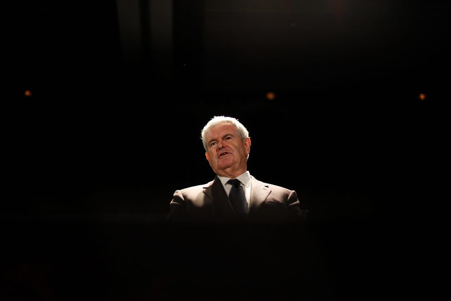 "ASSOCIATED PRESS Former House Speaker Newt Gingrich says Americans ""deeply dislike bureaucrats running their lives."""