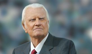 Famed evangelist Rev. Billy Graham, 92, in 2010.