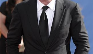 In this Aug. 29, 2010 photo, Piers Morgan arrives at the 62nd Primetime Emmy Awards in Los Angeles. (AP Photo/Chris Pizzello)