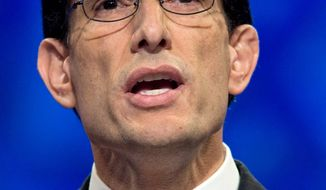 "House Minority Whip Eric Cantor, Virginia Republican, is making no promises of leadership posts to ""tea party"" favorites. (Associated Press)"