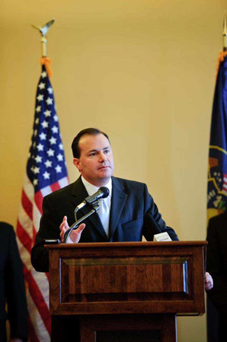 Sen. Mike Lee, Utah Republican (Photo from Mike Lee for Senate 2010)