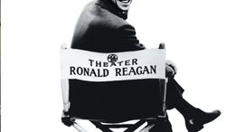 """What was once dignified primetime TV: Ronald Reagan and """"General Electirc Theater."""" (Photo from General Electric)"""