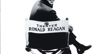 "What was once dignified primetime TV: Ronald Reagan and ""General Electirc Theater."" (Photo from General Electric)"