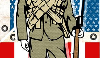 Illustration: Veterans by Linas Garsys for The Washington Times
