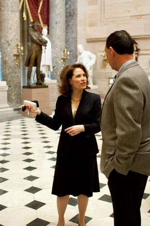 Associated Press Rep. Michele Bachmann, Minnesota Republican, will be among those rallying on the Capitol grounds at noon Monday to inveigh against excess spending by the lame-duck Congress.