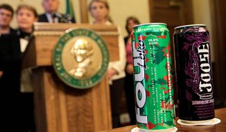 """ASSOCIATED PRESS Four Loko is among the caffeinated alcoholic beverages that federal authorities say have created a """"very important public health issue."""""""
