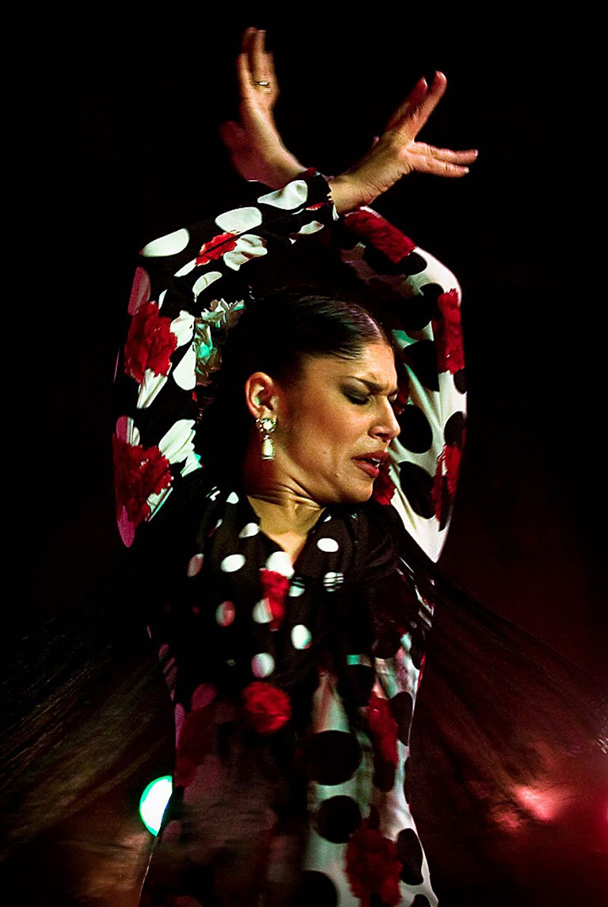In this photo taken on Friday, Nov. 12, 2010, flamenco dancer Angela Varas performs at Palacio del Flamenco in Seville, Spain. Spain's flamenco dance is among 51 proposals to be considered for inclusion on two UNESCO intangible cultural heritage lists. The Paris-based U.N. organization said that Tuesday Nov. 16 meeting in Nairobi, Kenya, will determine which of the proposals make the final cut. Thirty-one countries on four continents fielded proposals.  (AP Photo/Miguel Angel Morenatti)