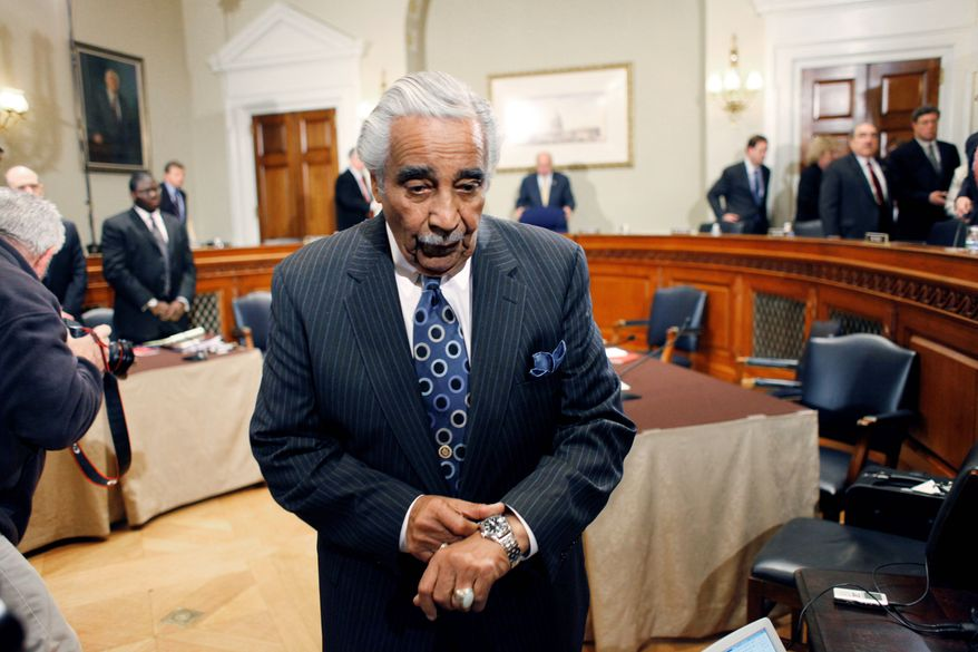 ASSOCIATED PRESS Rep. Charles B. Rangel, New York Democrat, apologized to his colleagues for the two-year ethics investigation ordeal.