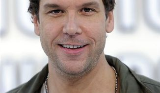 FILE - In this Sept. 12, 2010 file photo, Dane Cook arrives at the MTV Video Music Awards in Los Angeles.  (AP Photo/Chris Pizzello, File)