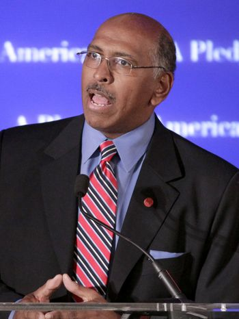 ASSOCIATED PRESS FILE - In this Nov. 2, 2010 file photo, Republican National Committee Chairman Michael Steele speaks in Washington.