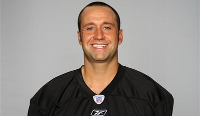 FILE - In this Nov. 14, 2010, file photo,  Pittsburgh Steelers kicker Jeff Reed (3) reacts after missing a field goal in the third quarter of an NFL football game against the New England Patriots in Pittsburgh. The Steelers cut Reed on Tuesday, Nov. 16, 2010. He began the season as one of the 10 most accurate kickers in NFL history but has been erratic all season. (AP Photo/Keith Srakocic, File)