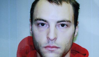 ** FILE ** This police booking photo provided by the Knox County Sheriff, shows 30-year-old Matthew Hoffman in Mount Vernon, Ohio. A 13-year-old girl who went missing with her mother, brother and a friend was found bound and gagged Sunday, Nov. 14, 2010, in the basement of Hoffman's home, authorities said. (AP Photo/Knox County Sheriff)