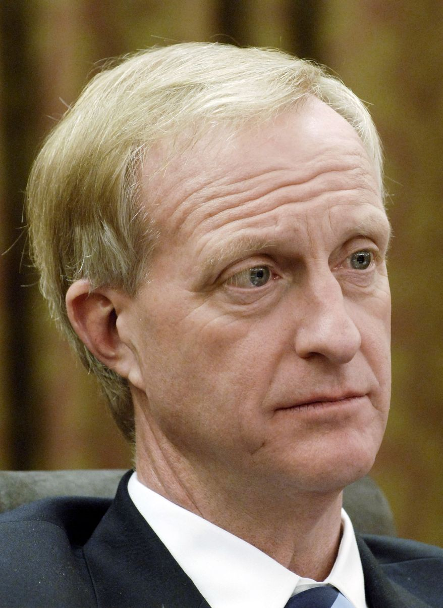 """""""We cannot balance the budget"""" on the backs of residents and small businesses, said council member Jack Evans. (The Washington Times)"""