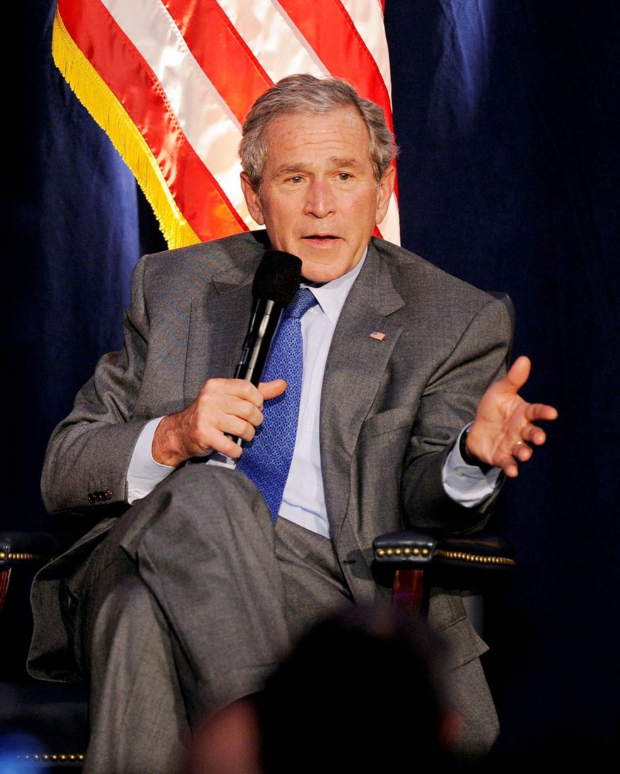"""Former President George W. Bush has sold more than 1.1 million copies of his memoir, """"Decision Points,"""" since its release on Nov. 9. More than 135,000 books sold were electronic versions. (Associated Press)"""