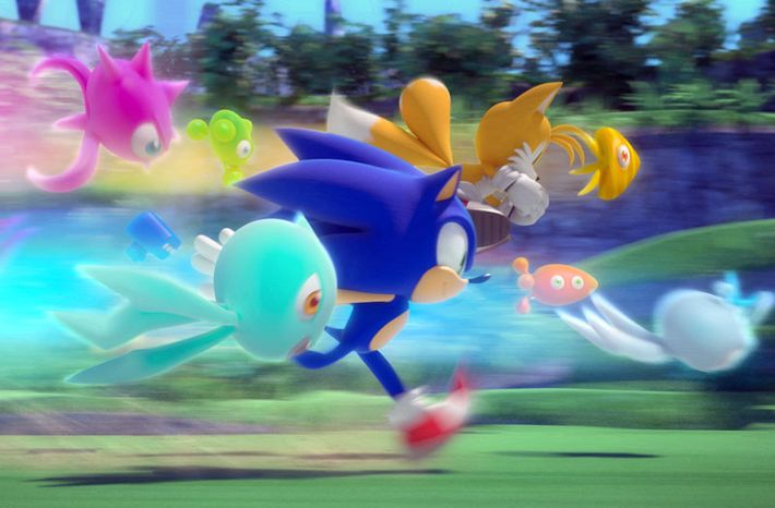 Sonic Colors from Sega is avail