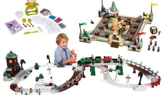 Chill Treats Dessert Maker, Lego Harry Potter Hogwarts Game and Christmas in ToyTown.