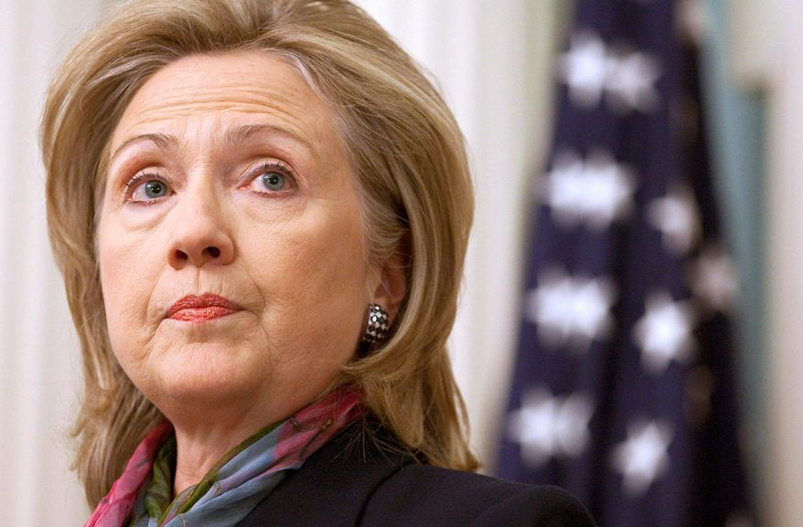 """""""There is nothing laudable about endangering innocent people, and there is nothing brave about sabotaging peaceful relations between nations on which our common security depends,"""" Secretary of State Hillary Rodham Clinton said."""
