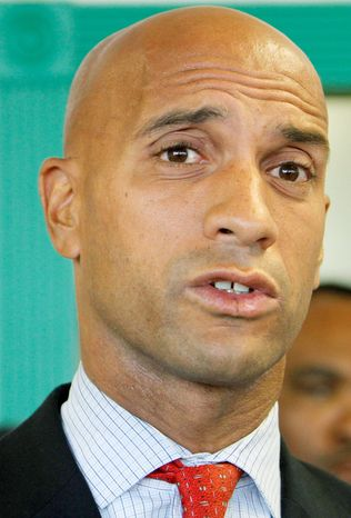 ASSOCIATED PRESS D.C. Mayor Adrian M. Fenty's proposed plan to balance the budget includes $161 million in agency and program cuts.