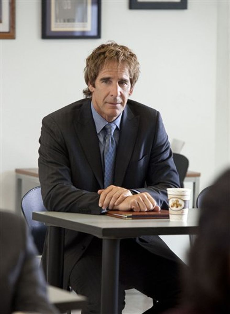 """In this publicity image released by TNT, Scott Bakula is shown in a scene from """"Men of a Certain Age."""" (AP Photo/TNT, Danny Feld)"""