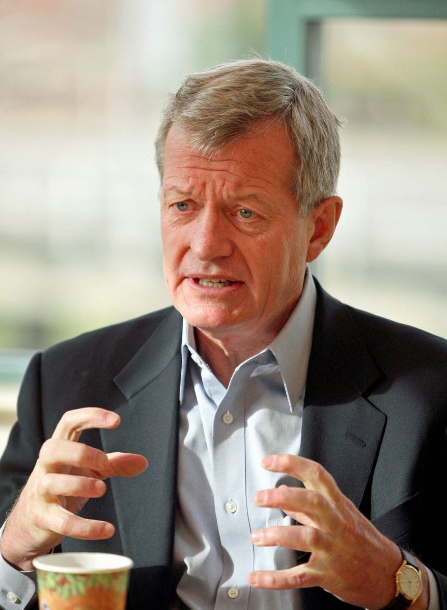 Sen. Max Baucus, Montana Democrat, plans to push for further renewable-energy subsidies before the lame-duck Congress expires. (Associated Press)