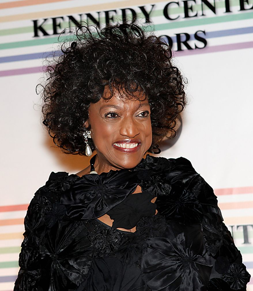 Opera singer Jessye Norman walks the red carpet at the Kennedy Center Honors in Washington on Sunday, Dec. 5, 2010. (AP Photo/Jacquelyn Martin)