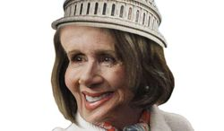 Illustration: Capitol Pelosi by Greg Groesch for The Washington Times
