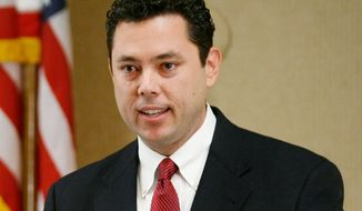 ** FILE ** Rep. Jason Chaffetz, Utah Republican (Associated Press)