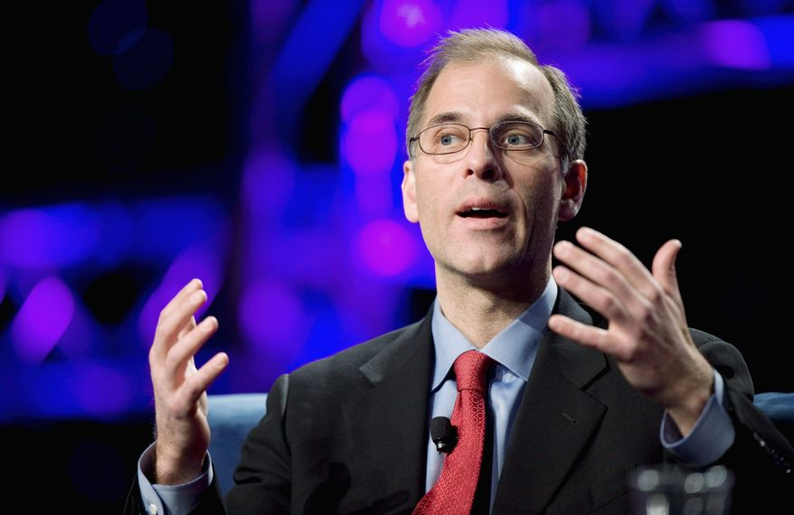 Mark Zandi, of Moody's Analytics, has members of both parties reciting his financial forecasts on Capitol Hill. But he has his detractors, too. (Associated Press)