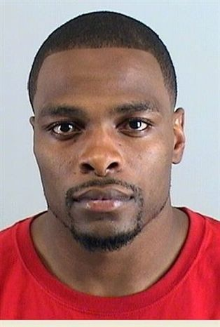 Denver Broncos rookie cornerback Perrish Cox is seen in a photo provided Friday, Dec. 10, 2010 by the Douglas County, Colo., Sherrif's Office. Police in a south Denver suburb say Cox has been arrested for investigation of felony sexual assault. Michelle Kivela, the public information officer for the city of Lone Tree, Colo., says Cox was arrested Thursday night following an investigation into an Oct. 28 incident. The case filing has been sealed at the request of the district attorney's office.  (AP Photo/Douglas County Sherrif's Office)